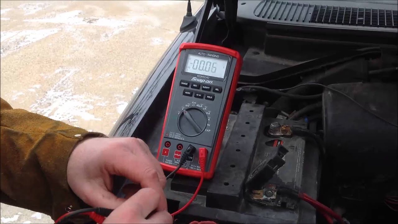 Car Battery Voltage >> How to perform a Volt Drop Test on Corroded battery cables ...