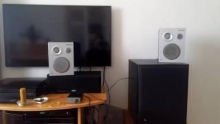 ChinkAudio TEST: Raspberry Pi 3 (OSMC) + Noname Soundcard + Breeze Audio TPA3116 + RFT B3010