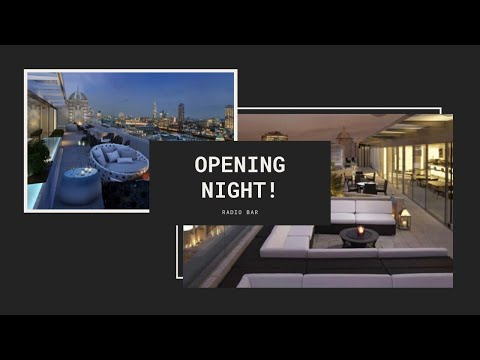Opening Night At Radio Bar And Terrace Me Hotel London