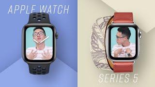 Đánh giá chi tiết Apple Watch Series 5: LAG