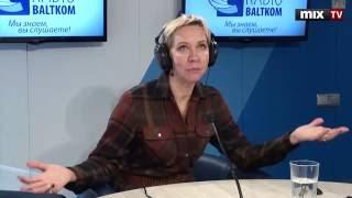 Российская актриса и телеведущая Татьяна Лазарева в программе ''Разворот''