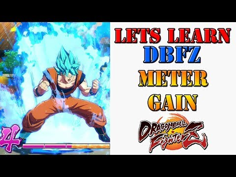 Lets learn DBFZ! - Tips on how to maximize your meter gain