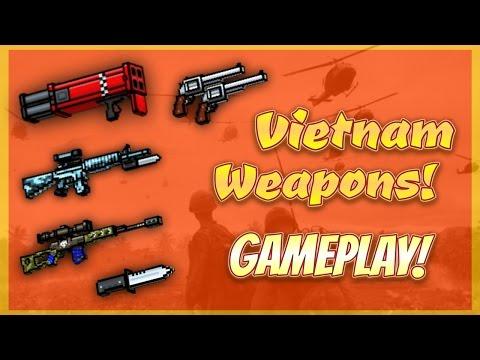 Pixel Gun 3D - Vietnam War Weapon Gameplay!