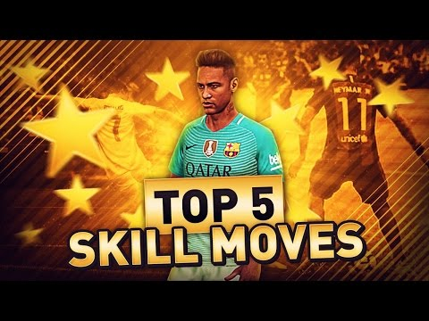 TOP 5 SKILL MOVES IN FIFA 17! (UPDATED) WHICH SKILL MOVES TO LEARN IN ULTIMATE TEAM! (HOW TO GUIDE)