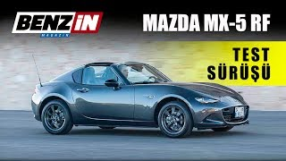 Mazda MX-5 RF test sürüşü 2017