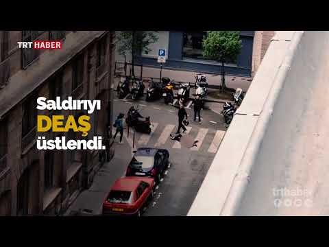 Paris'te yayalara bıçaklı saldırı