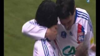 caen - lyon 0-1 coupe de france 2011 but pape DIAKHATE