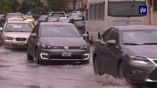 أمطار وزخات برد في معظم أنحاء المملكة (21-4-2019)