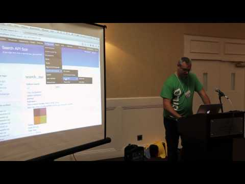 Drupal Camp Asheville: Search API and Solr by Lee Walker