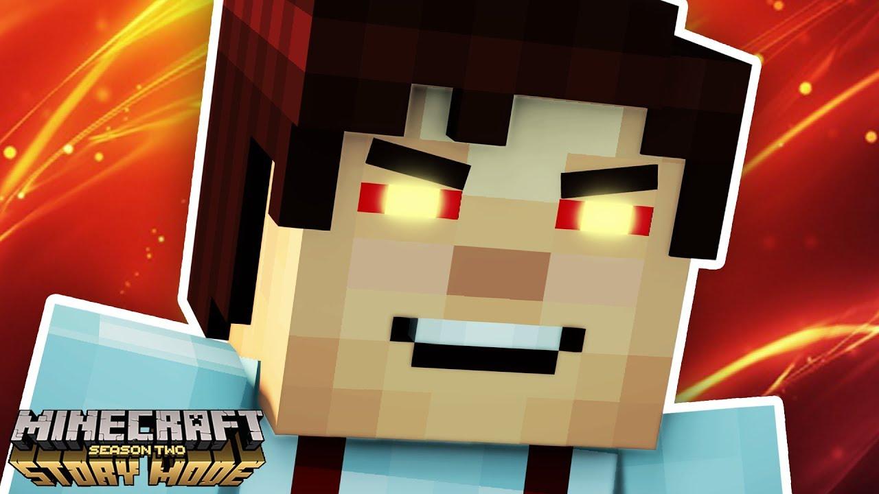 Jesse Turns Evil Minecraft Story Mode Season 2 Episode 3 Youtube