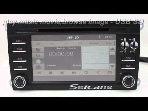 Upgrade 2003 2004 2005 2006 2007 2008 2009 Porsche Cayenne stereo to aftermarket radio sat nav