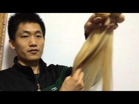 al por mayor rubian cabello--blonde virgin hair wholesale