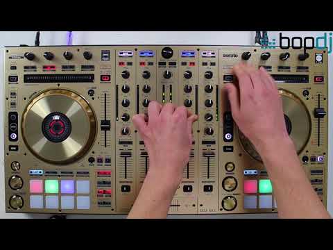 Scratch Performance on the Pioneer DDJ-SX2-N GOLD Ltd Edition | Bop DJ