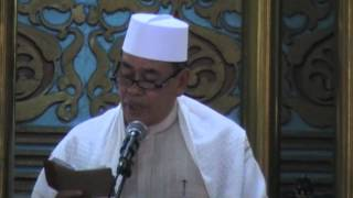 MASJID RAYA AL MASHUN - KHUTBAH JUMAT 14 SEPT 2012