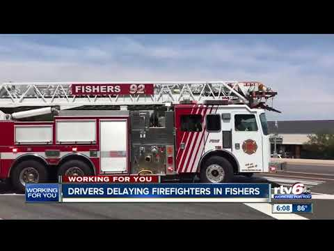Traffic Causes Delays At Busy Fishers Fire Station