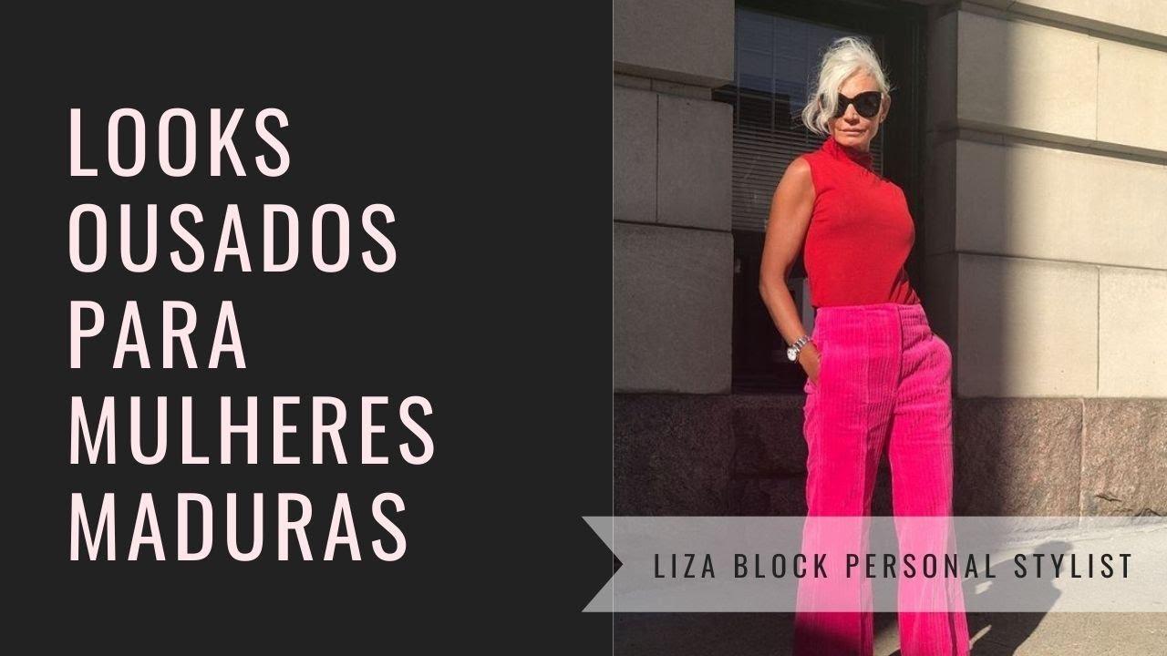 Moda Para Mulheres Maduras I Liza Block