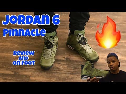 promo code 19525 07805 Jordan 6 Pinnacle   Flight Jacket Review + On Feet - YouTube