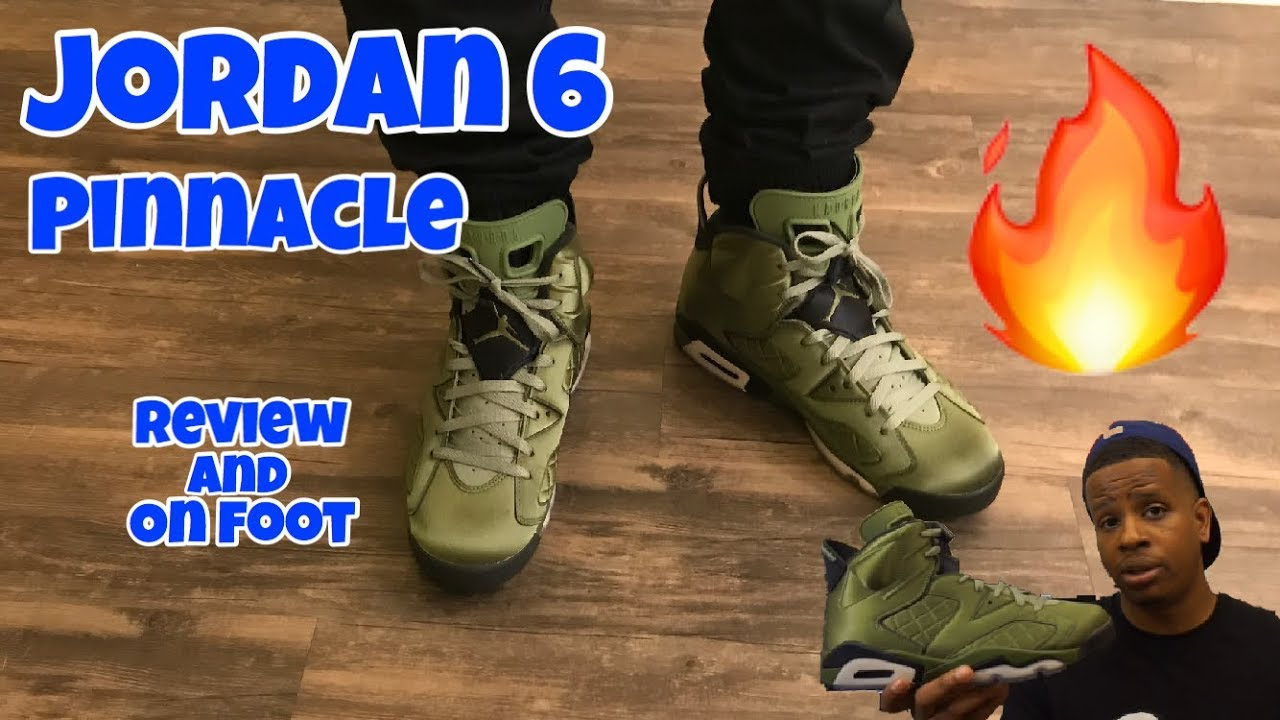 buy popular 669bb 91d39 Jordan 6 Pinnacle   Flight Jacket Review + On Feet