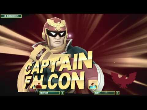 LCYP4 - The Captain (Default) vs Niche (Green) - WiiU Money Match