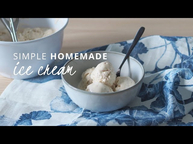 SIMPLE HOMEMADE ICE CREAM RECIPE - how to hygge | That Scandinavian Feeling