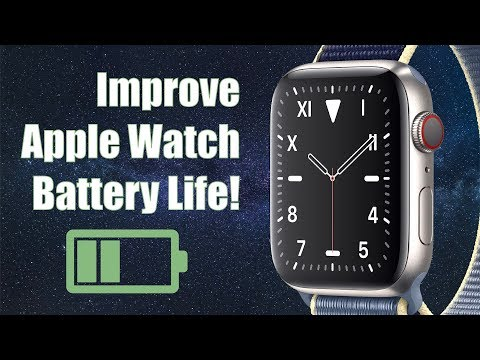 How To Fix Apple Watch Battery Issues! (Improve Apple Watch Battery Life!)