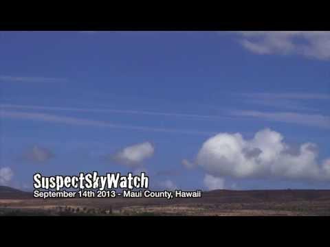 SuspectSkyWatch over Maui County, Hawaii 9-14-13