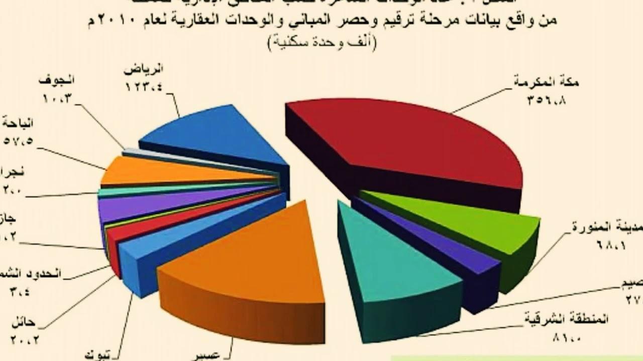 هيئة الإحصاء السعودية تكشف عدد سكان المملكة Youtube