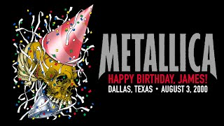 Metallica: Live in Dallas, Texas - August 3, 2000 (Full Concert) YouTube Videos