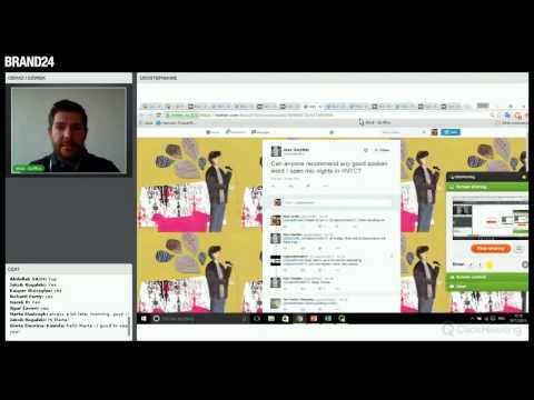 #02 How to generate leads via Social Media?   Webinars with Mick Griffin   Brand24