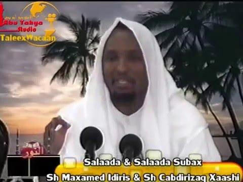 Muxaadaro-Fadliga salaada Subax oo jamaaco lagu tukado-Must watch