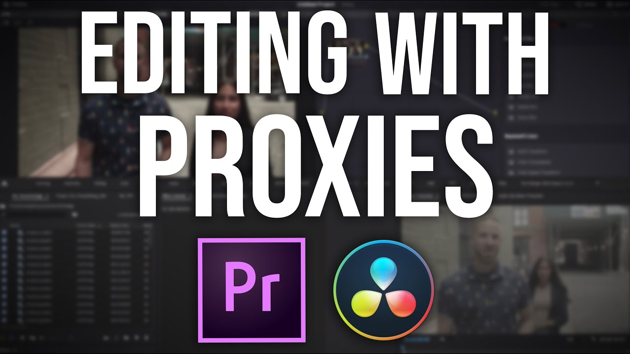 How To EDIT FASTER - Fix Video Lag with Proxy Editing | Video Editing Tutorial