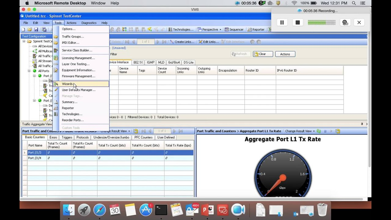 RFC 2544 Throughput and Latency test for EX4300 by using Spirent ...