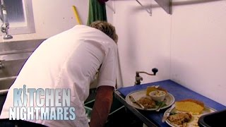 Chef Ramsay Spits Out Rotten Food; Shuts Down The Restaurant   Kitchen Nightmares