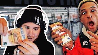 Unge REAGIERT auf Simon Desue bezahlt mit Falschgeld! | #ungeklickt