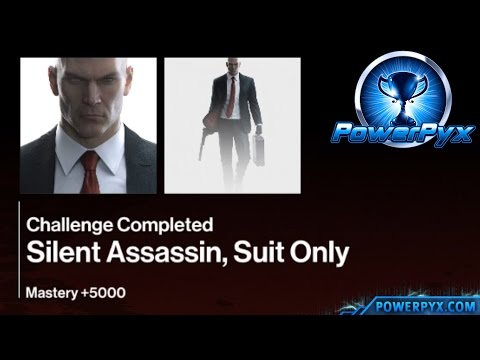 Hitman - The Showstopper Paris - Silent Assassin, Suit Only Challenge