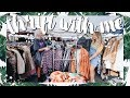 Come Thrift With Me | LA THRIFT SHOP MARKET + THRIFT TRY ON HAUL