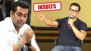 Aamir Khan's SHOCKING Insult On Salman Khan's Raped Women Controversy