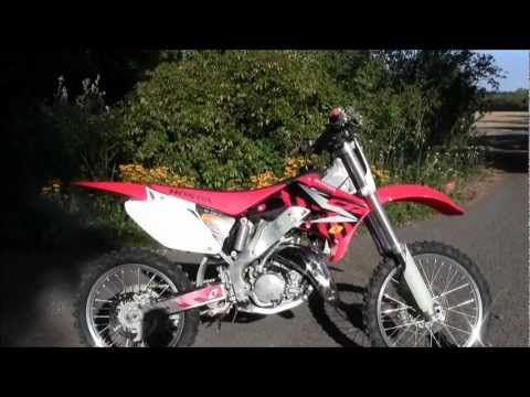 Honda CR 125 Review+Riding