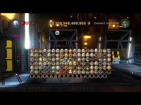 LEGO Star Wars III: The Clone Wars - Unlocking Characters