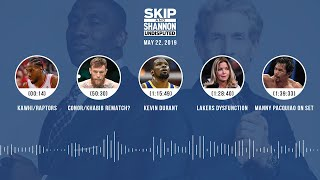 UNDISPUTED Audio Podcast (05.22.19) with Skip Bayless, Shannon Sharpe & Jenny Taft | UNDISPUTED