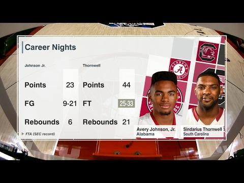 SEC NETWORK: Men's Basketball vs. Alabama Recap — 2/7/17