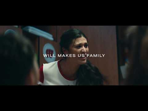 Under Armour shows the will of training athletes that 'Makes Us Family'