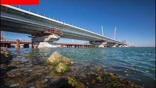 Керченский мост 10.07.2017 Строительство крымского моста Последние новост ||парад последние новости