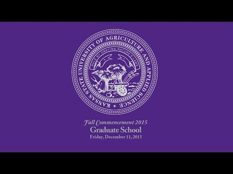 K-State Commencement - Fall 2015 | Graduate School