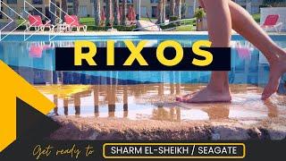 Rixos Seagate Rixos Sharm El Sheikh 4К Обзор отелей 2021