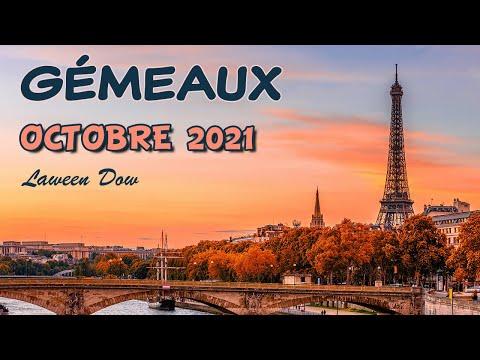 #GÉMEAUX OCTOBRE 2021