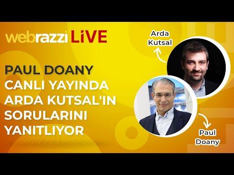 Türk Telekom CEO'su Paul Doany Canlı Yayında Arda Kutsal'ın Sorularını Yanıtlıyor