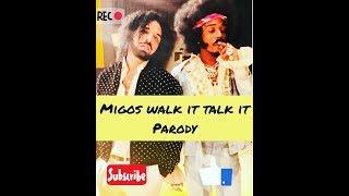MIGOS FEAT DRAKE WALK IT TALK IT PARODY