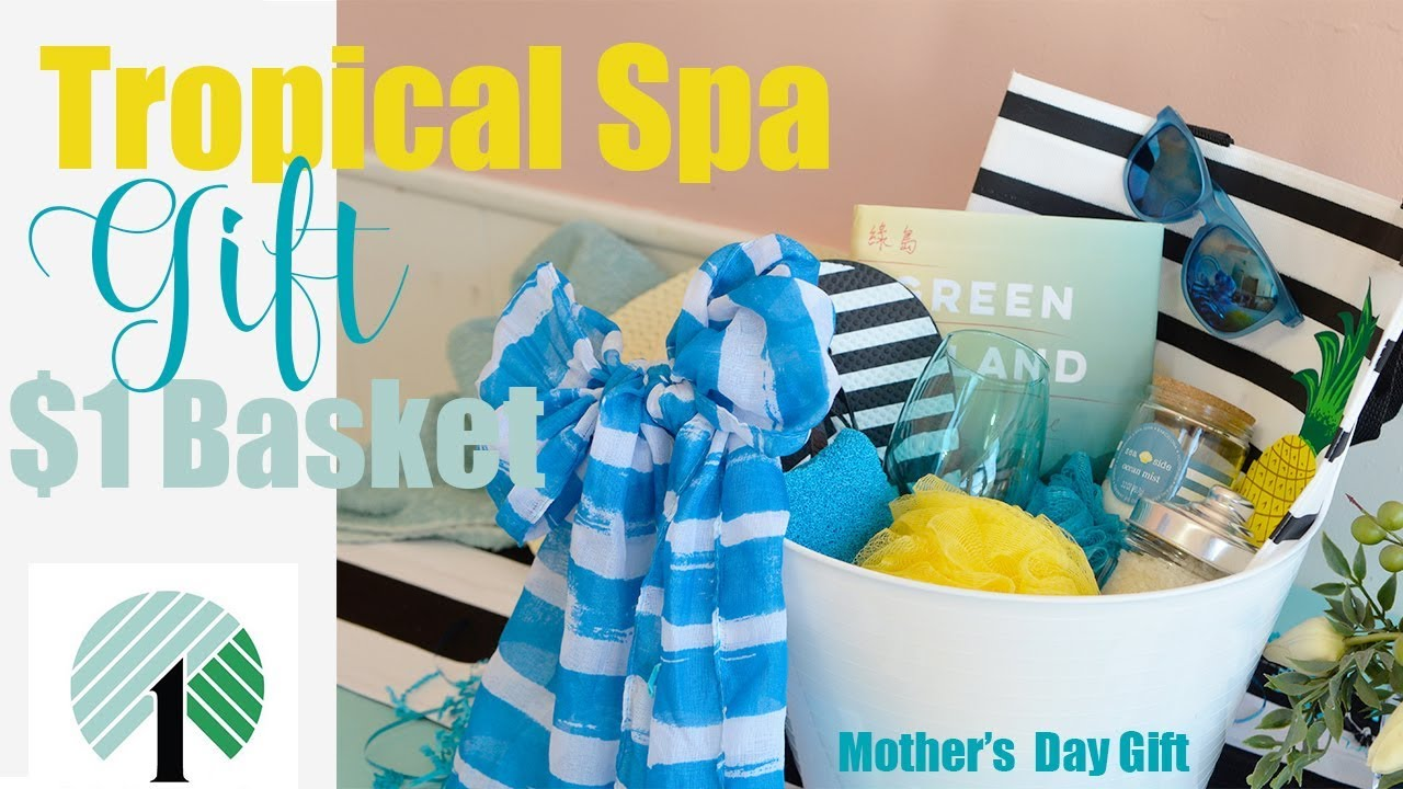 Dollar Tree DIY Spa Gift Basket under $15!? : homemade spa gift baskets - medton.org