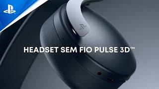 Periféricos - Headset sem fio PULSE 3D
